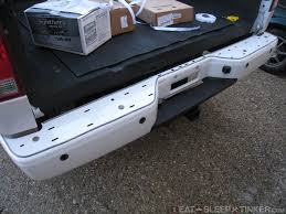 nissan titan door panel removal eat sleep tinker nissan titan rear bumper replacement and repair