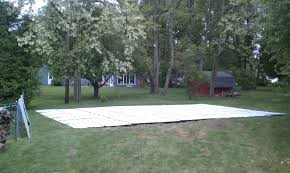 used synthetic ice hockey rink for sale