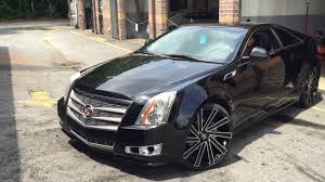 cadillac cts 22 inch rims cts coupe on 22
