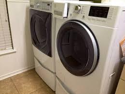 Front Load Washer With Pedestal Kenmore Elite Front Loading Washer And Dryer Set And Pedestals