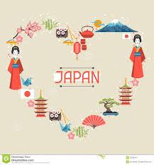 japan background design stock vector image 50589441