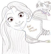 today show draw rapunzel disney u0027s