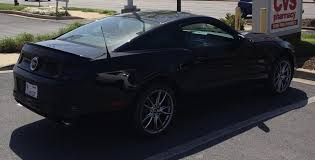 All Black Mustang Lets See Your 2013 5 0 Models Pics The Mustang Source Ford