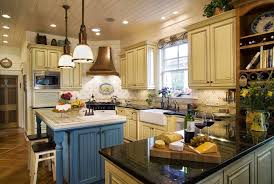 French Country Kitchen Furniture French Country Kitchen Cabinets Photos