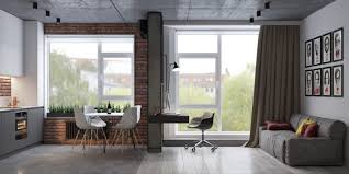 apartment themes apartments modern industrial apartment with exposed brick walls