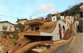 unique homes in japan living u201cinside u201d a mountain in kagawa