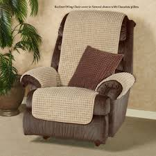 Slipcover Wing Chair Premier Puff Furniture Protectors With Tuck Flaps