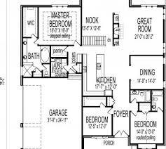 3 bedroom bungalow floor plan simple 3 bedroom bungalow house floor plans house floor plans