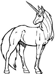 unicorn coloring pages for kids unicorn color pages unicorn a realistic drawing of unicorn