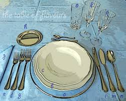 table flavours 5 basic rules for formal table setting