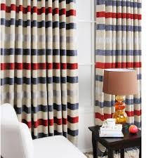 Striped Blackout Curtains Popular Striped Blackout Curtains With Thermal Rod