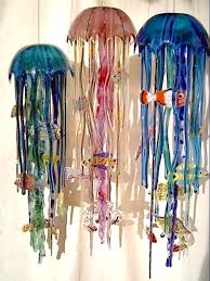 Jellyfish Pendant Light 26 Inch Jellyfish Trio Jpg