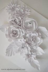 Wedding Backdrop Book 87 Best Paper Flowers Images On Pinterest Paper Marriage And
