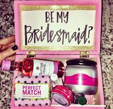 asking bridesmaid gifts will you be my bridesmaid