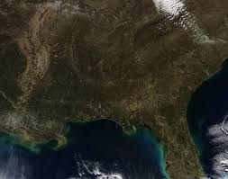 Southeastern United States Map by Fires In Southeast United States Both Wild And Prescribed Nasa