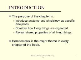 Essentials Of Human Anatomy And Physiology Notes An Introduction To The Human Body Lecture Outline Ppt Download