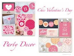 Valentine S Day Themed Party Decor by Best Valentine U0027s Day Party Plates U0026 Chic Heart Theme Party Decor