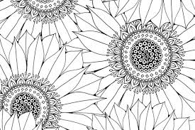 Sunflower Coloring Pages Beautiful Printable Sunflower Images Sunflower Coloring Page
