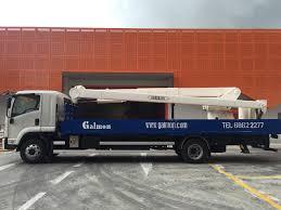 truck mounted trailer mounted lifts galmon com