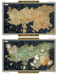 Game Of Thrones World Map by Game Of Thrones