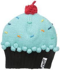neff s cupcake beanie hat clothing