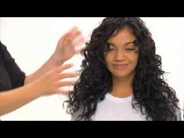 curl enhancers for fine hair aveda how to define curls with be curly style prep youtube
