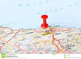 Asturias Spain Map by Oviedo Spain Map Pin Stock Photo Image 47178154