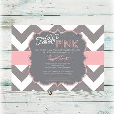 top collection of tickled pink baby shower invitations 2017