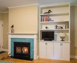 furniture wonderful fireplace built in bookshelves to warm and