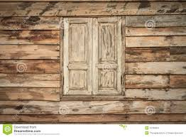 Old Wood Wall Old Wooden Wall And Window Stock Photo Image 42785354