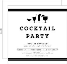 Cocktail Party Invite - cocktail party invitations u0026 cocktail party invite