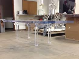 27 best lucite table base images on pinterest lucite table