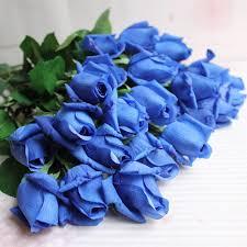 Blue Roses For Sale Aliexpress Com Buy Free Shipping 11pcs Lot Fresh Rose