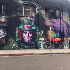 arts district los angeles california an entire alice in arts district los angeles california an entire alice in wonderland themed building