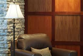 Wood Paneling Walls by Brick And Wood Paneled Walls Elegance Of Natural Wood Paneled