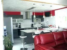 cuisine et blanc decoration noir et blanc deco cuisine noir deco cuisine et