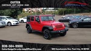 2017 jeep wrangler new 2017 jeep wrangler unlimited sport sport utility in pearl city