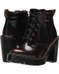 womens boots don t miss this deal dr martens persephone 6 eye padded collar