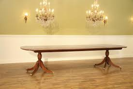 Quality Dining Tables New American Made High End Flame Mahogany Dining Table