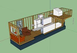 tiny house layouts the updated layout tiny house fat crunchy tiny houses and