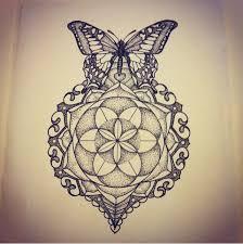 afterlife mandala butterfly by georgiamason butterfly mandala