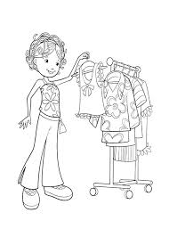clothes coloring pages groovy girls choose clothes coloring page kids coloring pages