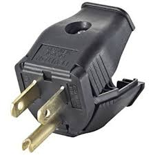 leviton 3w101 e 2 pole 3 wire grounding plug black spark plug