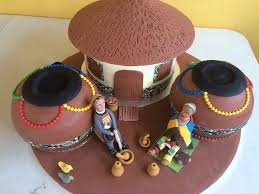 traditional wedding cakes the ndebele traditional wedding cake cakecentral