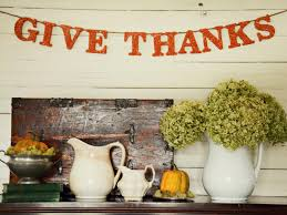 glittered thanksgiving banner hgtv