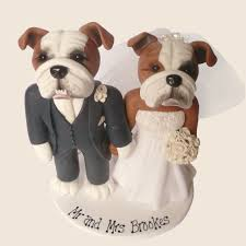 bulldog cake topper character creations personalised cake toppers by pitcher