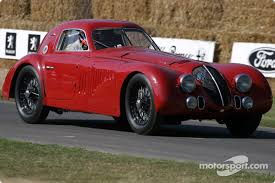 1938 alfa romeo 8c 2900b le mans coupe at goodwood festival of speed