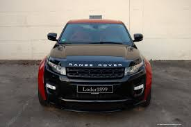 modified land rover range rover evoque sd4