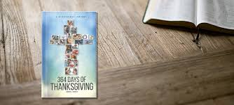 booknook 364 days of thanksgiving a devotional journal wels