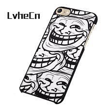 Meme Iphone 5 Case - lvhecn troll funny meme face black phone case cover for iphone 5 5s